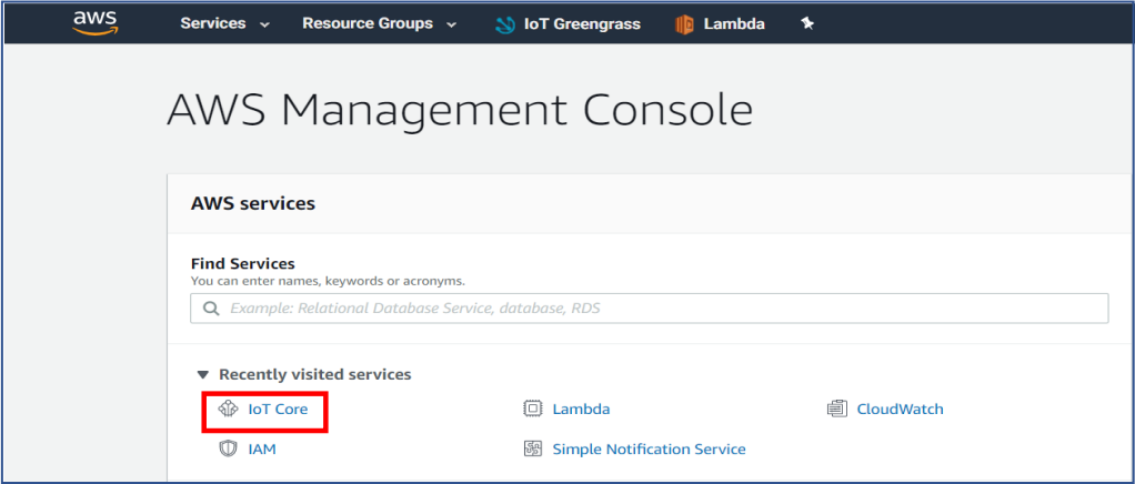 AWS IoT with LAMBDA FUNCTION - Goldenmace IT Solutions